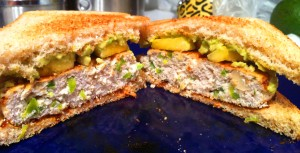 pretty turkey sandwich cut